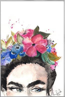 Frida's Look Poster in Aluminium Frame