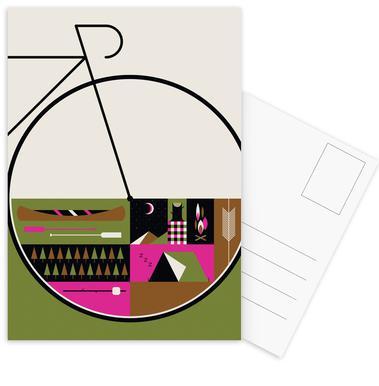 Camp Vibes -Postkartenset