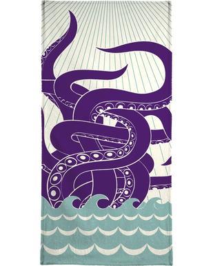 Sea Monster Bath Towel