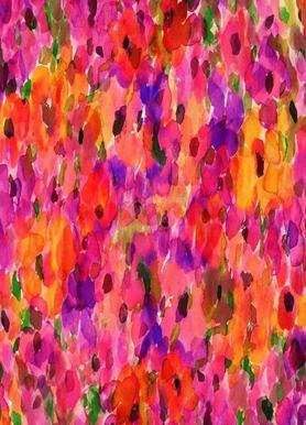 Fleur Rouge -Leinwandbild