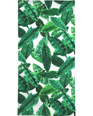 Small Palm Leaves Beach Towel