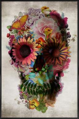 Skull II ingelijste poster