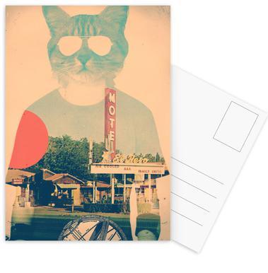 Cool Cat Postcard Set