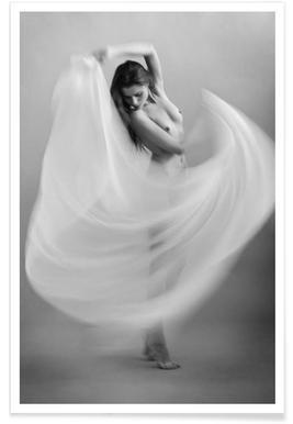 Twisted fabric - Dieter Plogmann - Premium poster