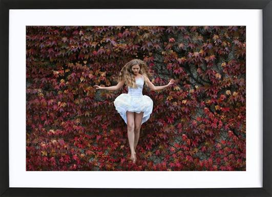 November - Elyza Ly - Poster in Wooden Frame