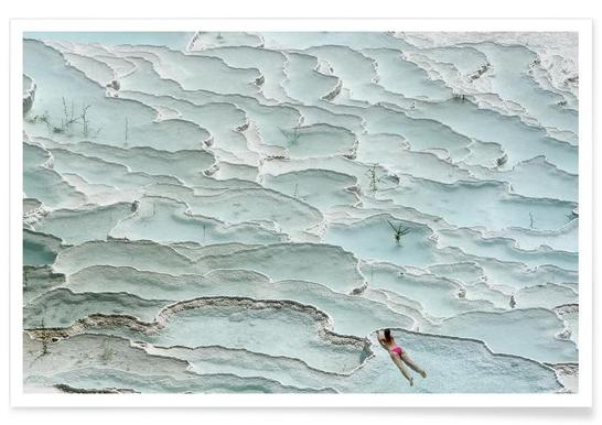 Turquoise Paradise - Igor Tinak Poster