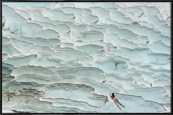 Turquoise Paradise - Igor Tinak Framed Poster