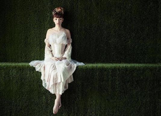 Alone in Wonderland - Jeremie Mazenq Canvas Print