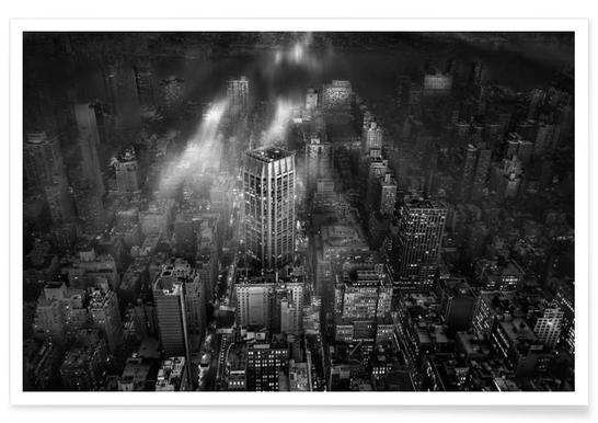 New York City - Leif Løndal Poster
