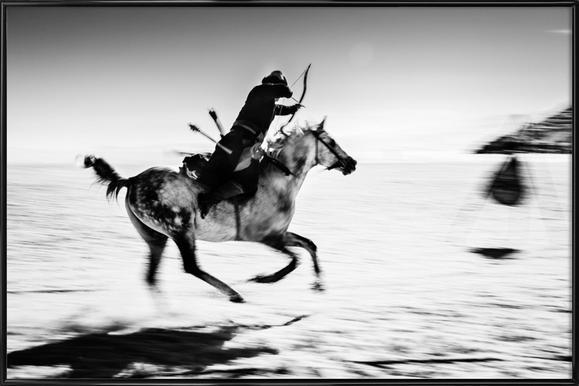 Untitled - Murat Yilmaz affiche encadrée
