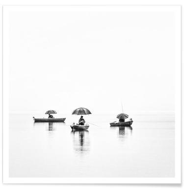 Fishermen's world - Nina Pauli Poster
