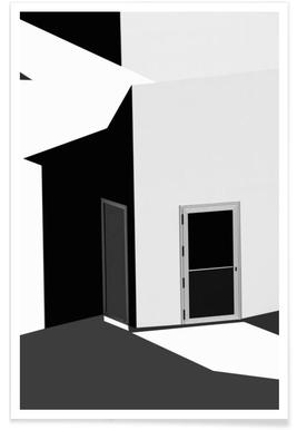 Closed doors - Olavo Azevedo - Premium Poster