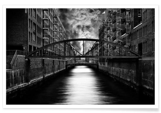 The other side of Hamburg - Stefan Eisele Poster