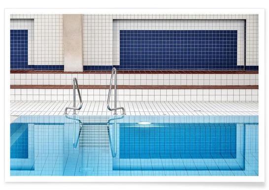 Swimming - Renate Reichert Poster