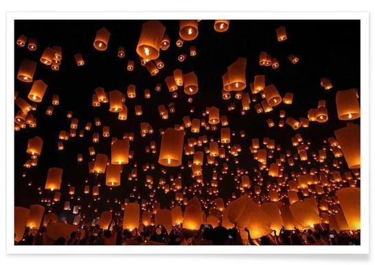 Floating Lanterns - Vichaya Poster