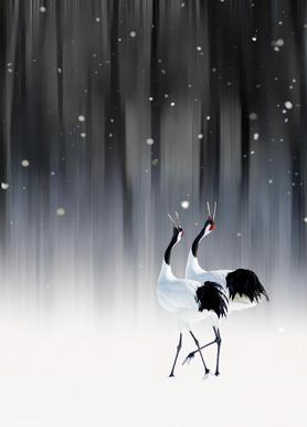 Happy New Year - Ikuo Iga toile