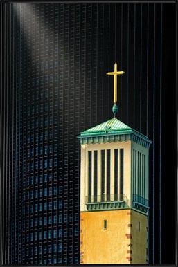 The Light Beam - Anette Ohlendorf affiche encadrée
