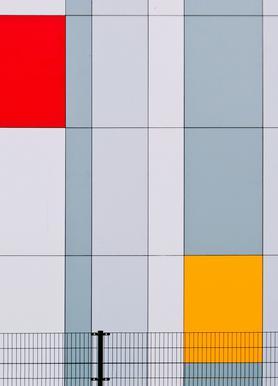 Mondriaan? - Henk Van Maastricht Canvas Print