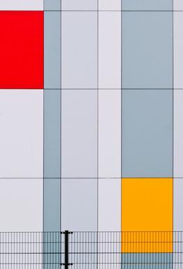 Mondriaan? - Henk Van Maastricht Aluminium Print