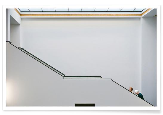 Stair-Up - Henk Van Maastricht - Premium poster