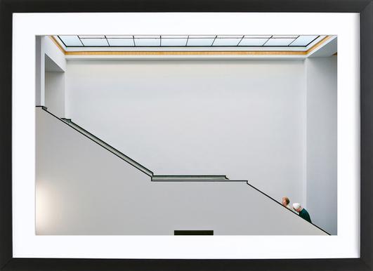 Stair-Up - Henk Van Maastricht Framed Print