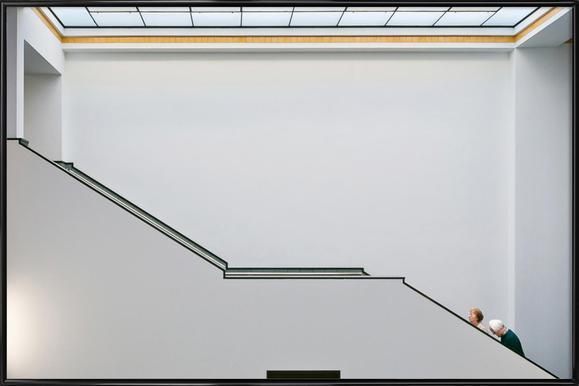 Stair-Up - Henk Van Maastricht - Poster in Standard Frame