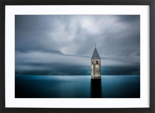 Church of Graun - Leon Framed Print