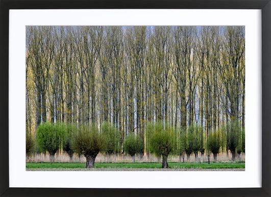 Layers - Henk Van Maastricht Framed Print