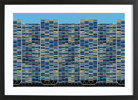 Big, Bigger, Biggest - Henk Van Maastricht Framed Print