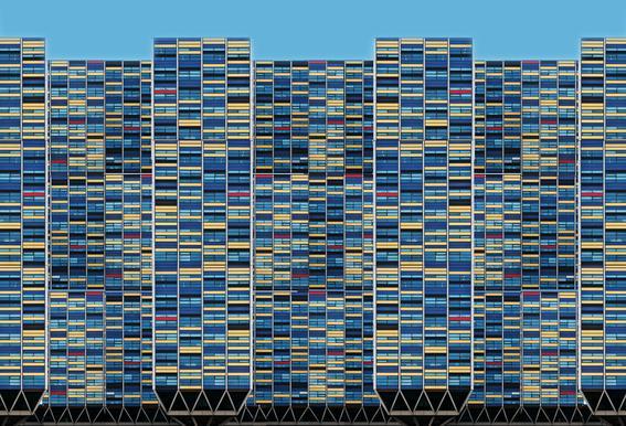 Big, Bigger, Biggest - Henk Van Maastricht Aluminium Print