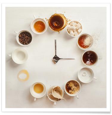 It's Always Coffee Time - Dina Belenko poster