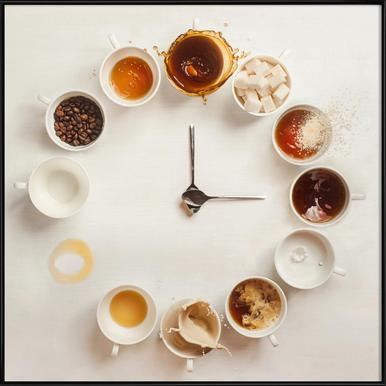 It's Always Coffee Time - Dina Belenko Framed Poster