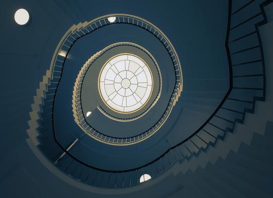 Curl1 - Henk Van Maastricht -Leinwandbild