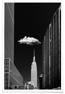 Single Cloud - Jackson Carvalho - Premium poster