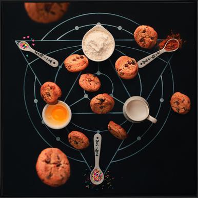 Baking Alchemy - Dina Belenko -Bild mit Kunststoffrahmen