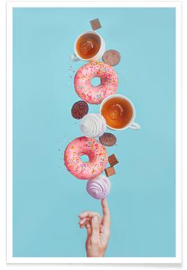 Weekend Donuts - Dina Belenko - Poster