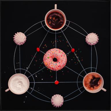 Sweet Alchemy Of Cooking - Dina Belenko -Bild mit Kunststoffrahmen