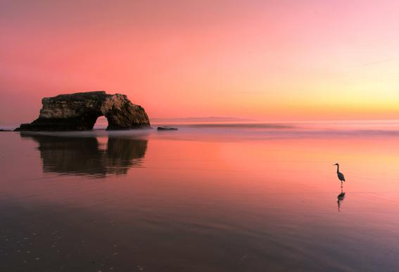 Sunset at the Natural Bridge 2 - Rob Li