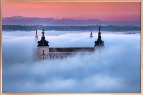Toledo City Foggy Sunset - Jesús M. Garcia