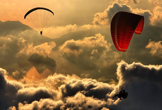 Paragliding 2 - Yavuz Sariyildiz