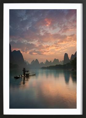 Li River Sunrise - Yan Zhang