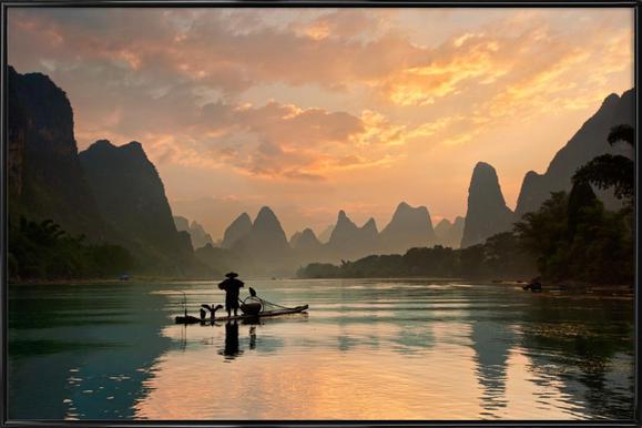 Golden Li River - Yan Zhang