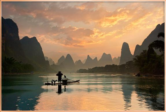 Golden Li River - Yan Zhang