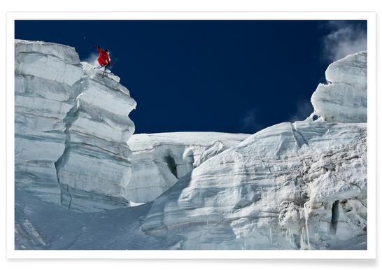 Cliff Jumping - Tristan Shu -Poster