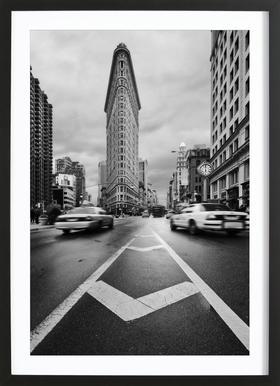 Taxiiii - Javier de la Framed Print