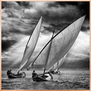 Sailboats And Light - Angel Villalba
