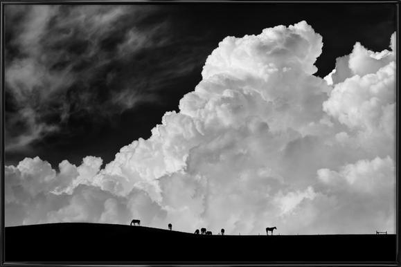 The Calm Before The Storm - Gloria Salgado Gispert Framed Poster