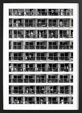 Mass Tourism - Franz Baumann Framed Print