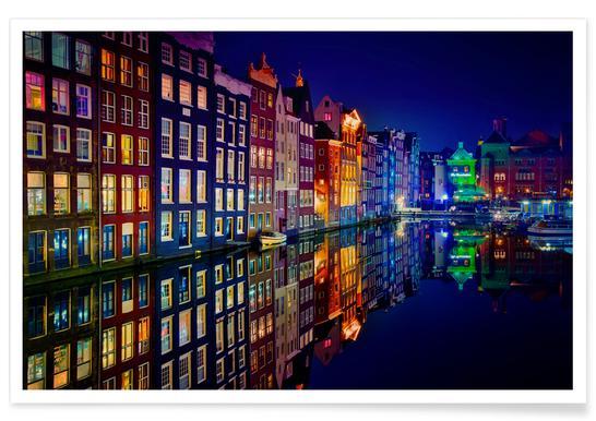 Amsterdam - Juan Pablo De poster