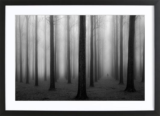In a Fog - Jochen Bongaerts -Bild mit Holzrahmen